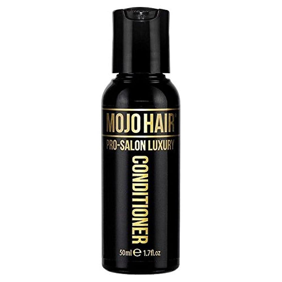 着飾る純正コロニアルMOJO HAIR Pro-Salon Luxury Fragrance Conditioner for Men, Travel Size 50ml (Pack of 6) - 男性のためのモジョの毛プロのサロンの贅沢な...