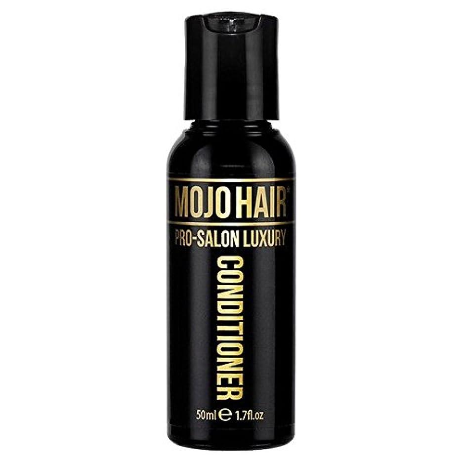 鷹悪因子叫び声MOJO HAIR Pro-Salon Luxury Fragrance Conditioner for Men, Travel Size 50ml - 男性のためのモジョの毛プロのサロンの贅沢な香りコンディショナー、トラベルサイズ...