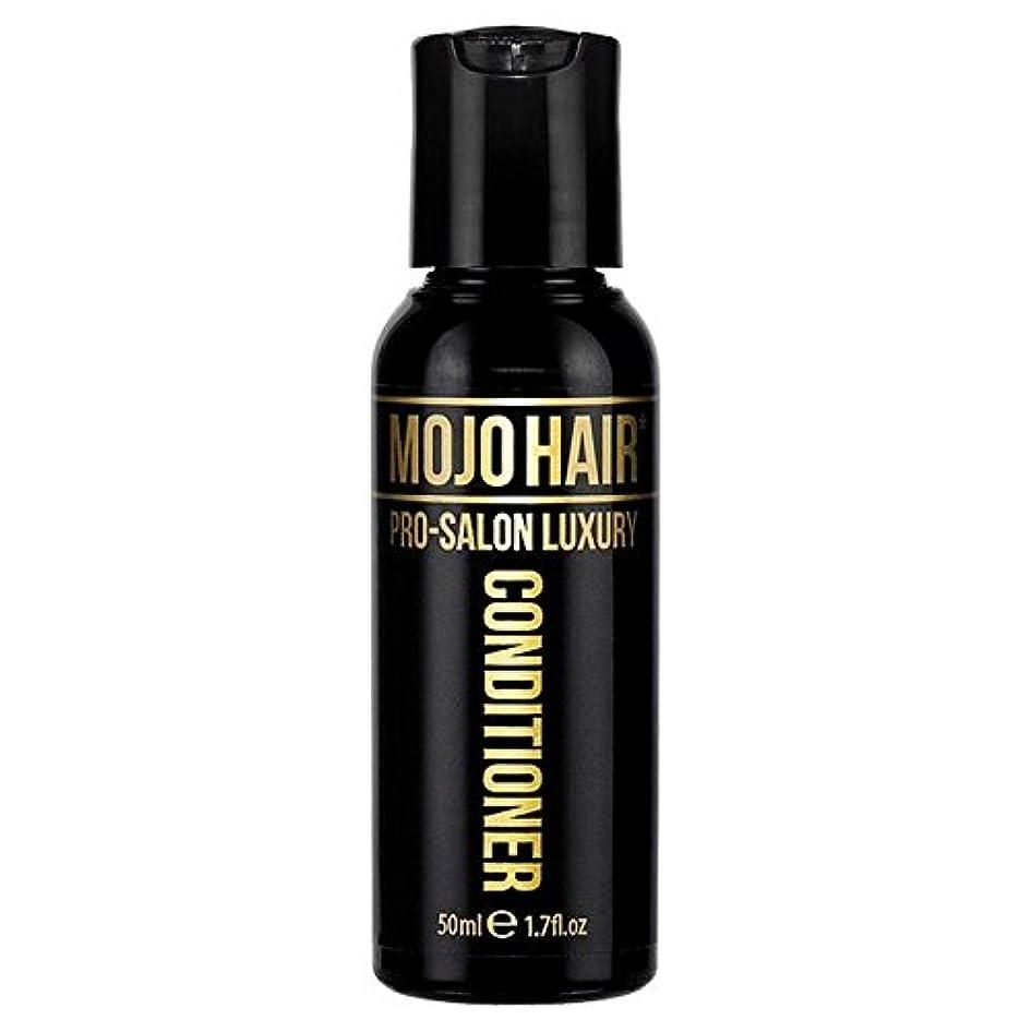 意義ゼロタンパク質男性のためのモジョの毛プロのサロンの贅沢な香りコンディショナー、トラベルサイズの50ミリリットル x4 - MOJO HAIR Pro-Salon Luxury Fragrance Conditioner for Men...