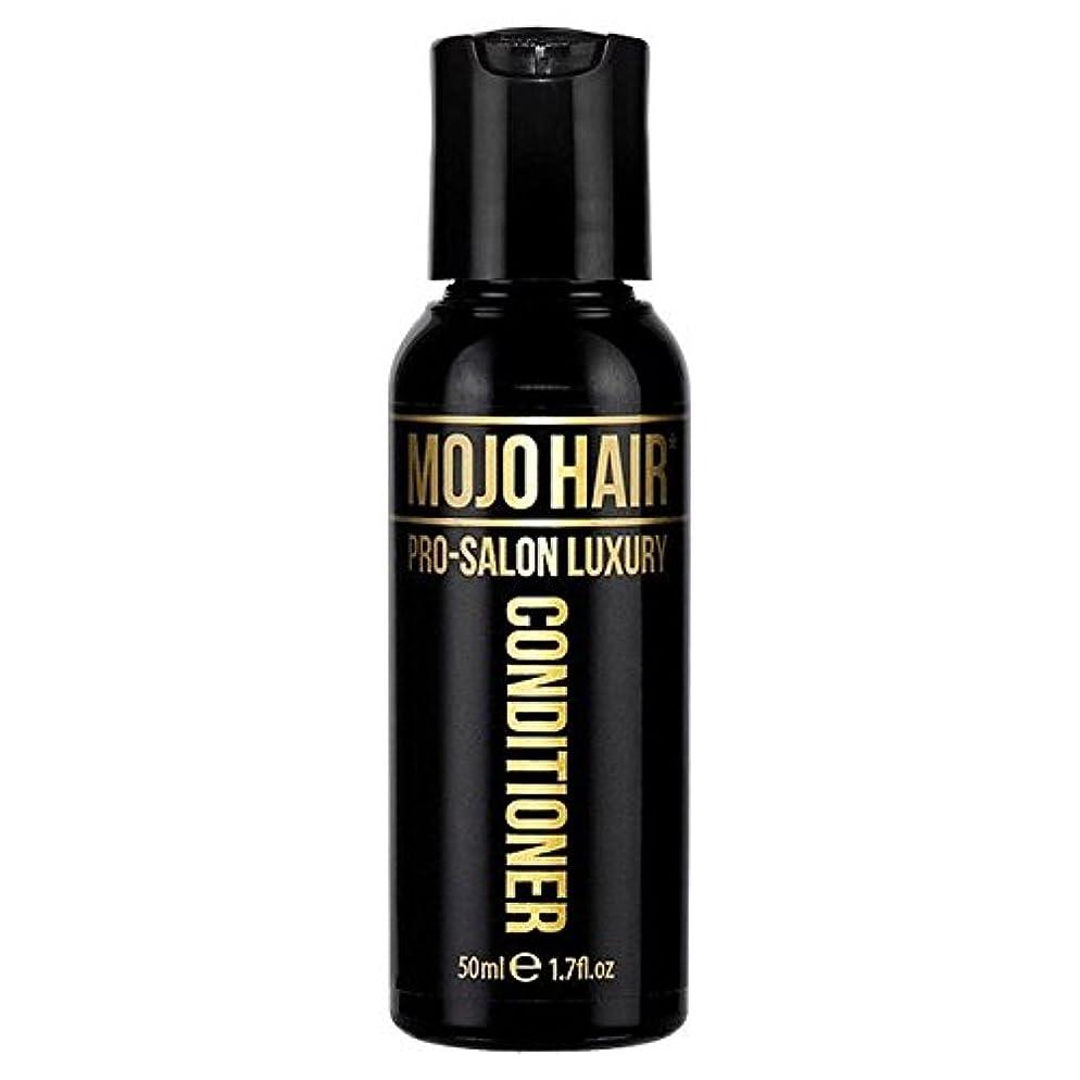 孤独全滅させる儀式MOJO HAIR Pro-Salon Luxury Fragrance Conditioner for Men, Travel Size 50ml (Pack of 6) - 男性のためのモジョの毛プロのサロンの贅沢な香りコンディショナー、トラベルサイズの50ミリリットル x6 [並行輸入品]