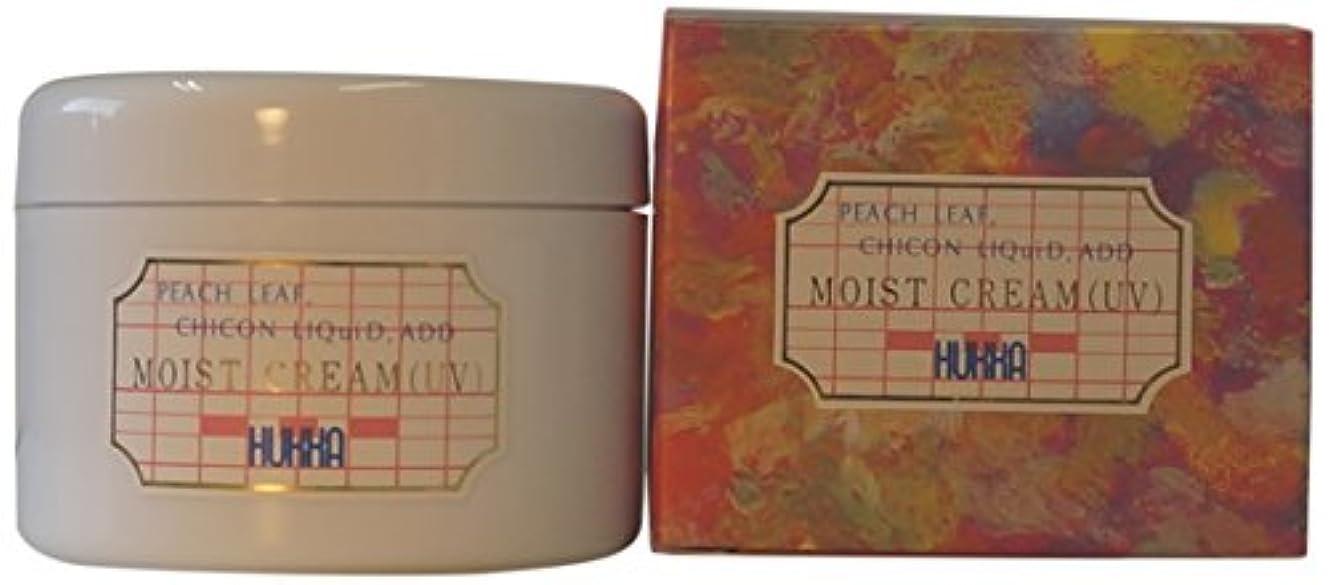 の中で対立不機嫌フッカーコスメチック ももの葉?紫根エキス配合 モイストクリーム(UV) 120g AMZ-0027
