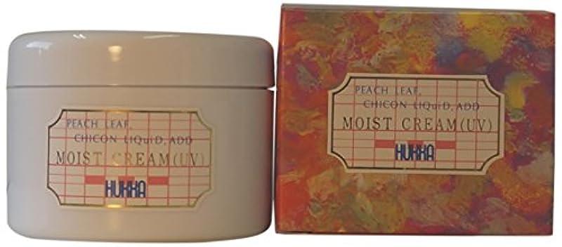 奇跡的なスクラップブック臨検フッカーコスメチック ももの葉?紫根エキス配合 モイストクリーム(UV) 120g AMZ-0027