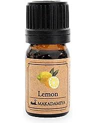 レモン5ml 天然100%植物性 エッセンシャルオイル(精油) アロマオイル アロママッサージ aroma Lemon