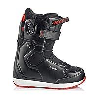 19-20 DEELUXE ディーラックス EMPIRE TF エンパイア サーモインナー メンズ スノーボード ブーツ オールラウンド 正規品 (24.5cm, BLACK)