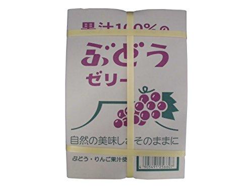 果汁100%のぶどうゼリー 23粒