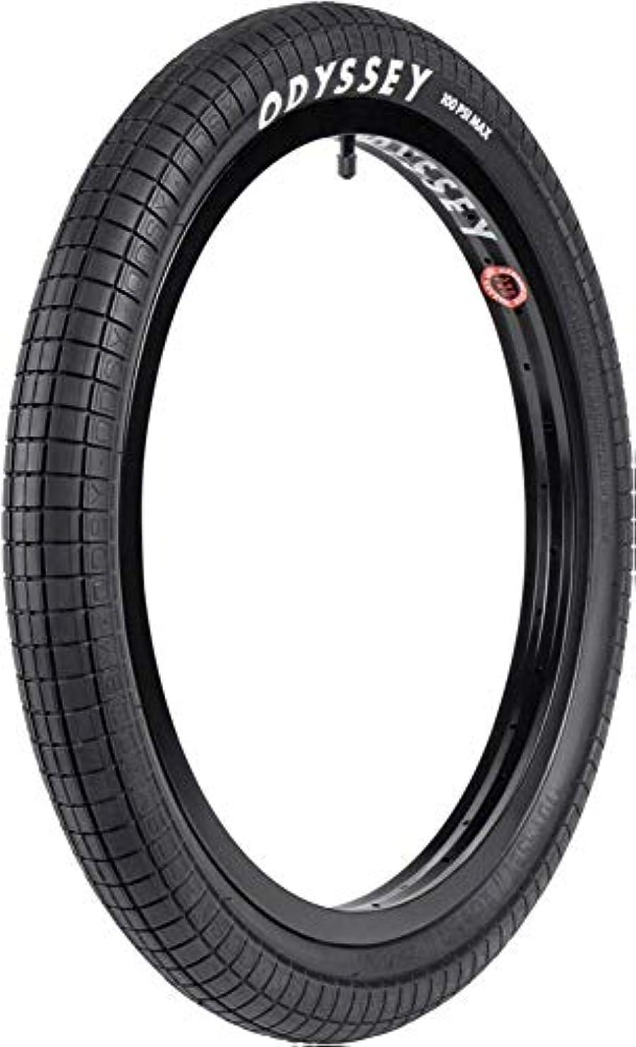 解き明かすサイクルクマノミODYSSEY Aaron Ross V2 20 x 2.4 ブラックタイヤ