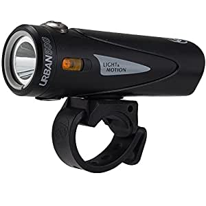 Light&Motion(ライトアンドモーション) ヘッドライト URBAN500 [アーバン500] IP67 耐塵防水 全天候対応 リチウムイオン充電池 Onyx