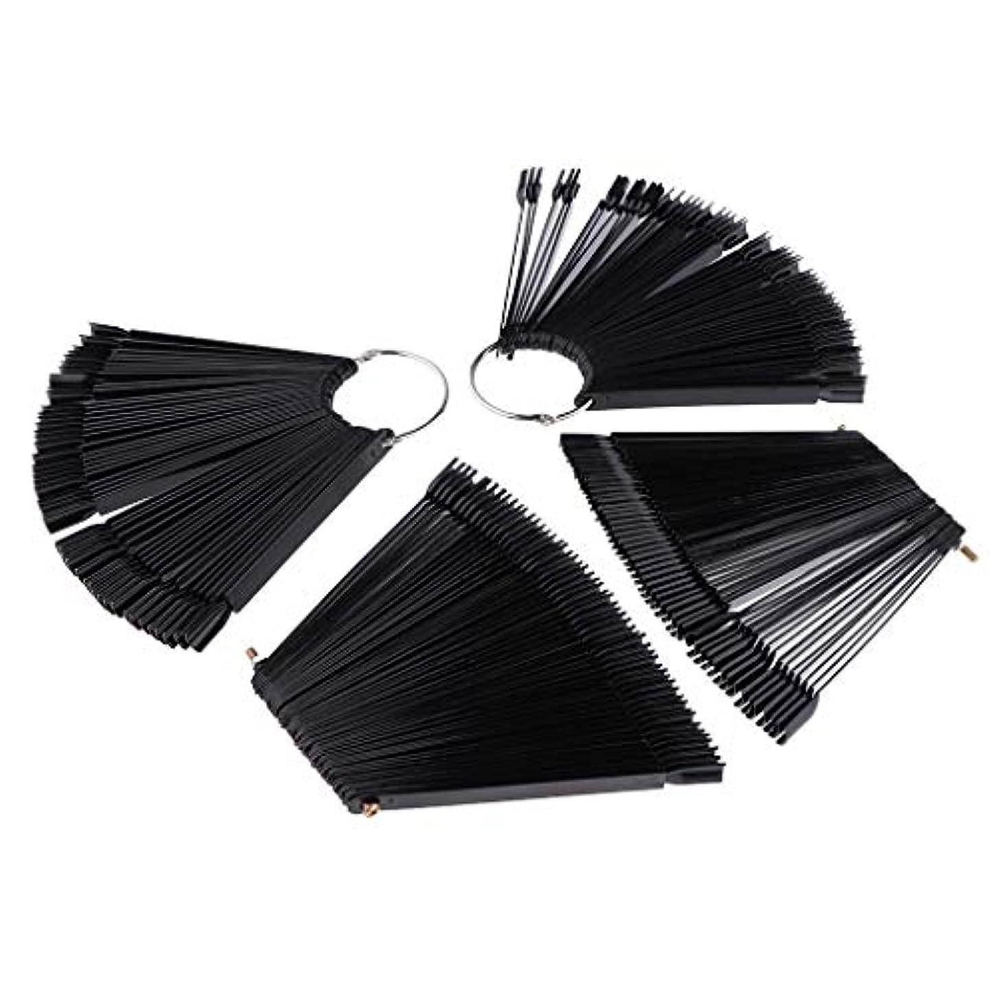 メドレー構成するマーティンルーサーキングジュニアToygogo ネイルアート マニキュア カラー ディスプレイ パレット カラー表示 プラスチック ブラック