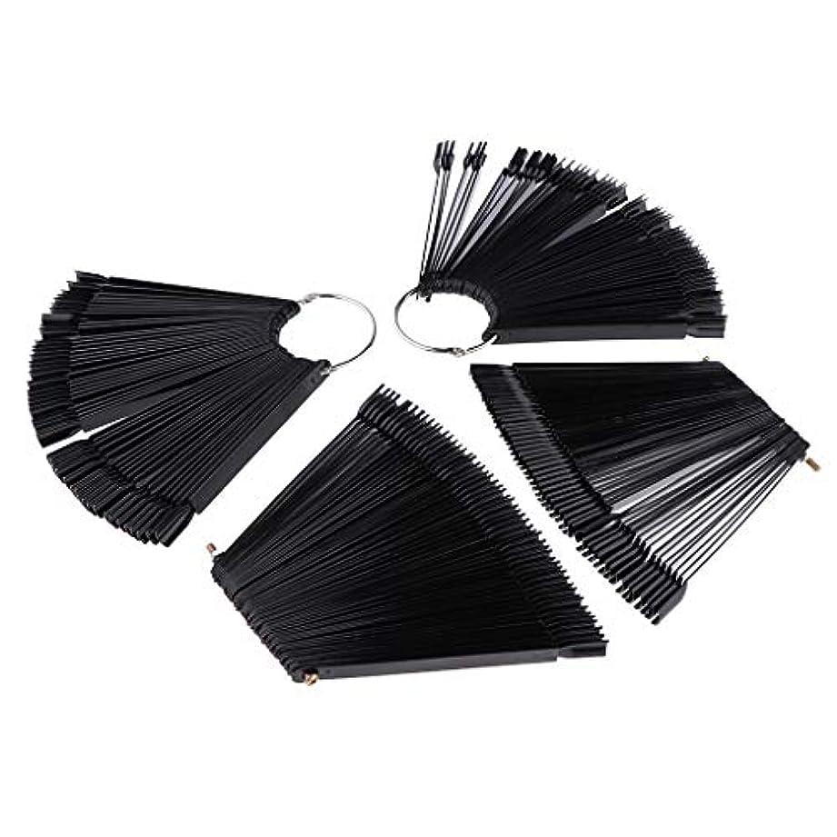 成長とげのある後ろ、背後、背面(部Toygogo ネイルアート マニキュア カラー ディスプレイ パレット カラー表示 プラスチック ブラック