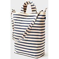 (バグゥ) BAGGU 2WAYバッグ Duck Bag Sailor Stripe [並行輸入品]