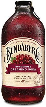 Bundaberg Burgundee Creaming Soda, 12 x 375 ml