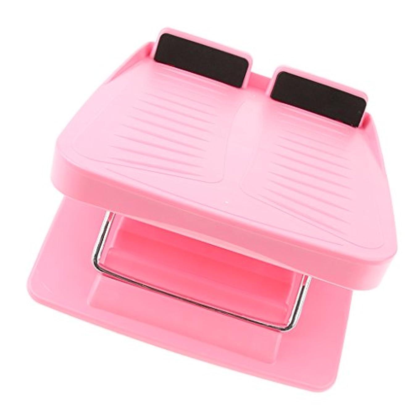 無数のアリス葉を拾うchiwanji 斜面ボード スラントボード アンチスリップ カーフストレッチ 調整可能 ウェッジストレッチャー 3色 - ピンク