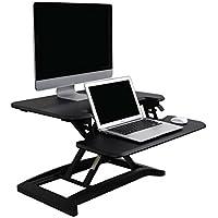 FlexiSpot スタンディングデスク座位・立位両用 高さ調節デスク オフィステーブルM7B