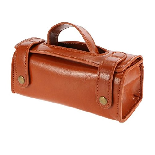 Men PU Leather Travel Toiletry...