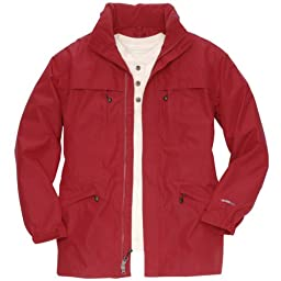WeatherEdge Port Townsend Parka: Red