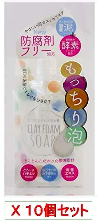 もちもちクレイ泡石鹸 ジャパンギャルズ X10個セット