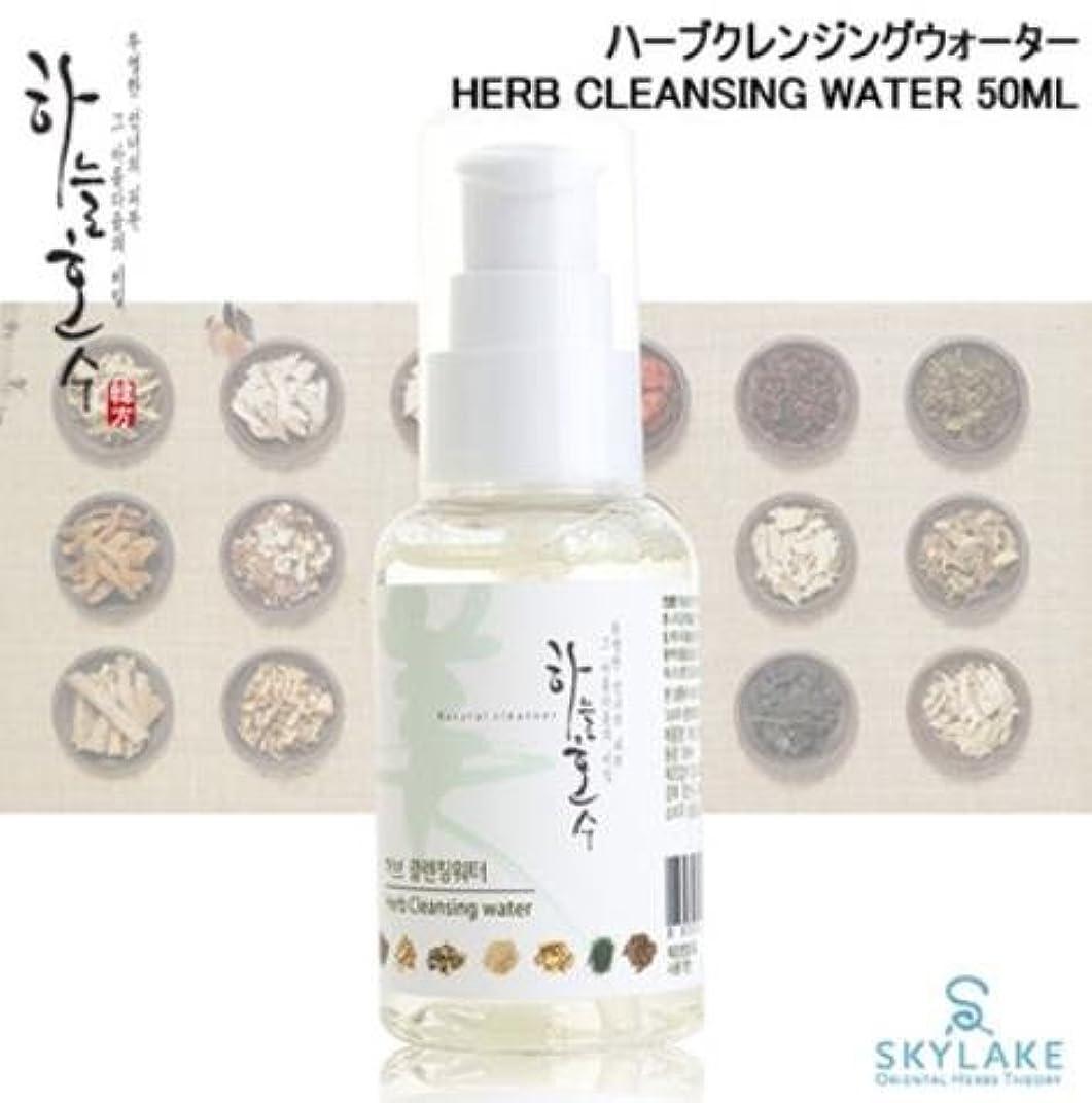 逃げる答え嫉妬[ハヌルホス] Skylake [ハーブクレンジングウォーター (50ml)] (Herb Cleansing Water (50ml)) [並行輸入品]