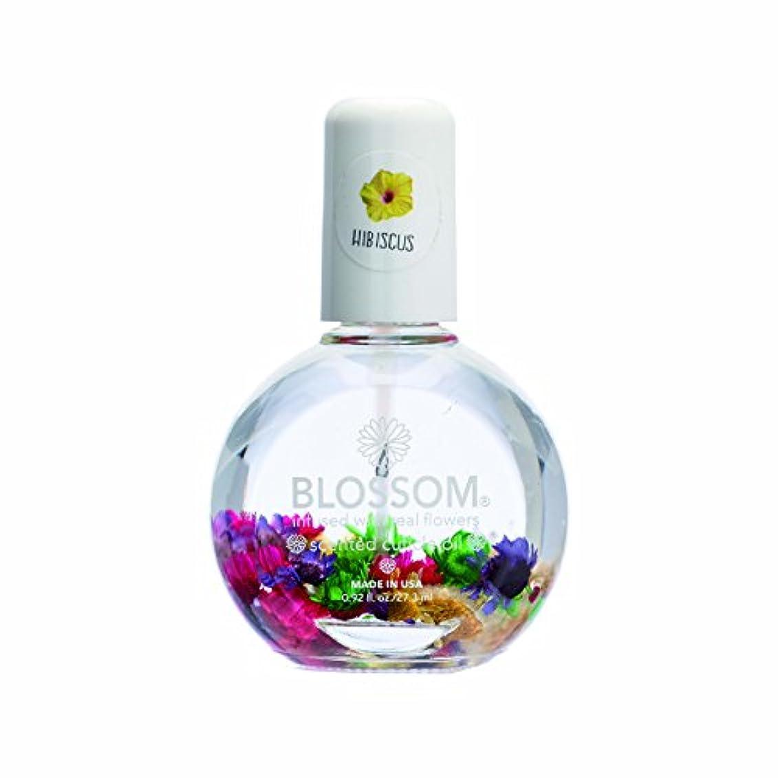 緩やかないわゆるぐったりBlossom ネイルオイル フラワー 1OZ ハイビスカス WBLCO122-5