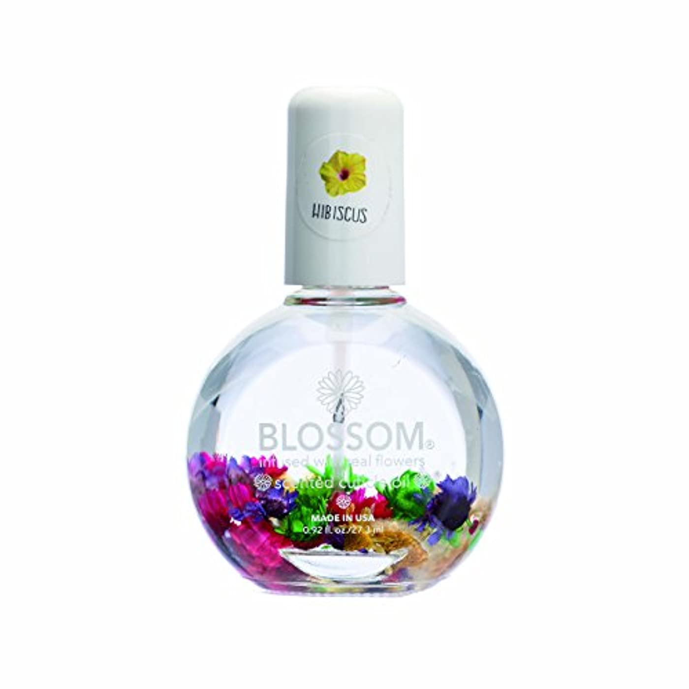 もう一度抜け目のない薬理学Blossom ネイルオイル フラワー 1OZ ハイビスカス WBLCO122-5