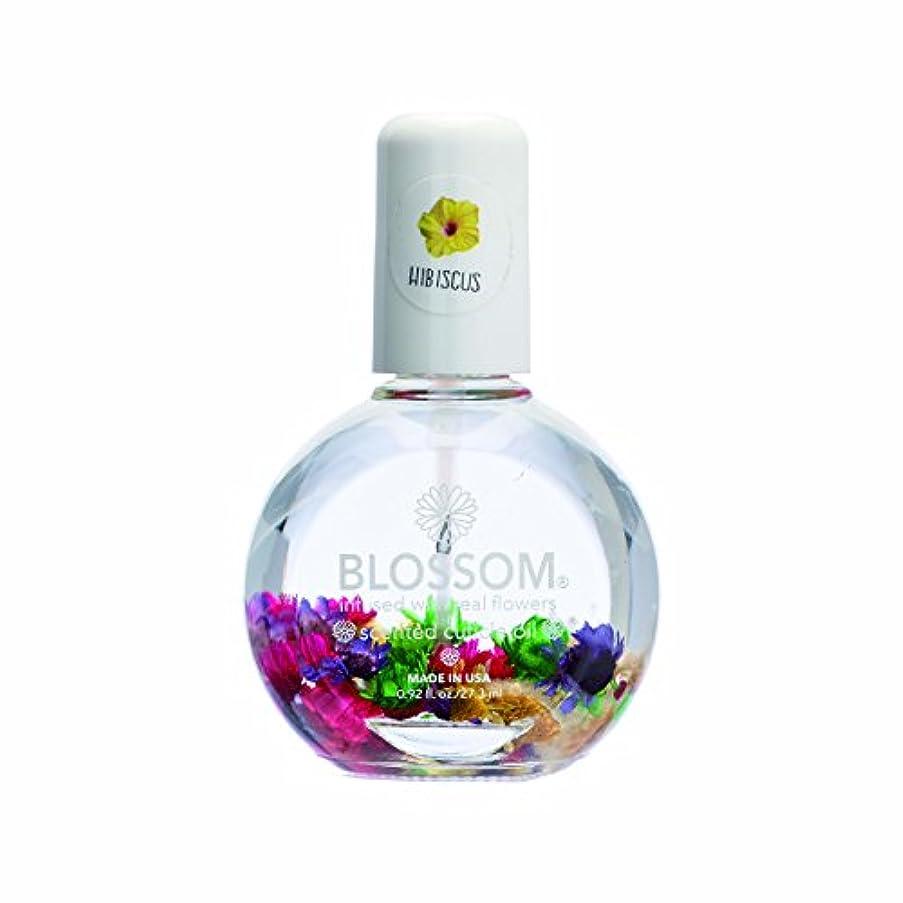 注入する負食品Blossom ネイルオイル フラワー 1OZ ハイビスカス WBLCO122-5