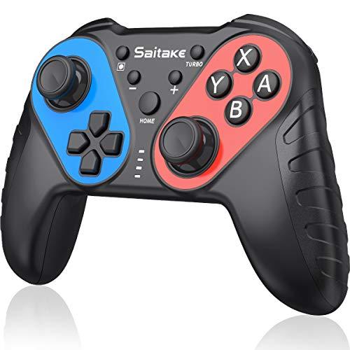 【NFC機能搭載】スイッチ コントローラー BEBONCOOL ジャイロセンサー搭載 Bluetooth接続 Amiiboに対応 Proコントローラー switch コントローラー switchプロコン 振動レベル調整可能 スイッチ8.0.1に対応 switch コントローラ Nintendo switch に適用プロコントローラー Proコン