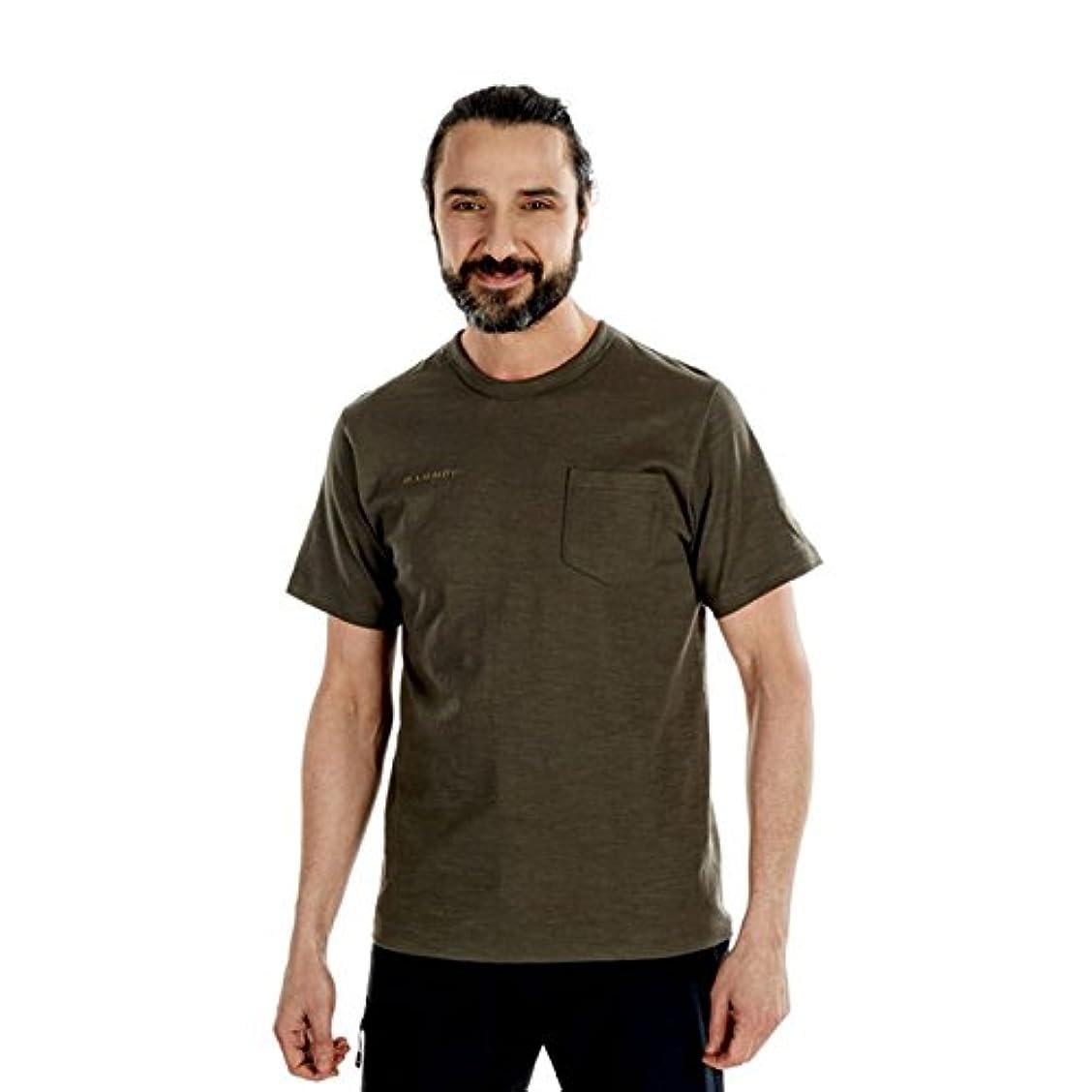 セレナ練る困惑[マムート] コットン ポケット Tシャツ 1017-10001 メンズ