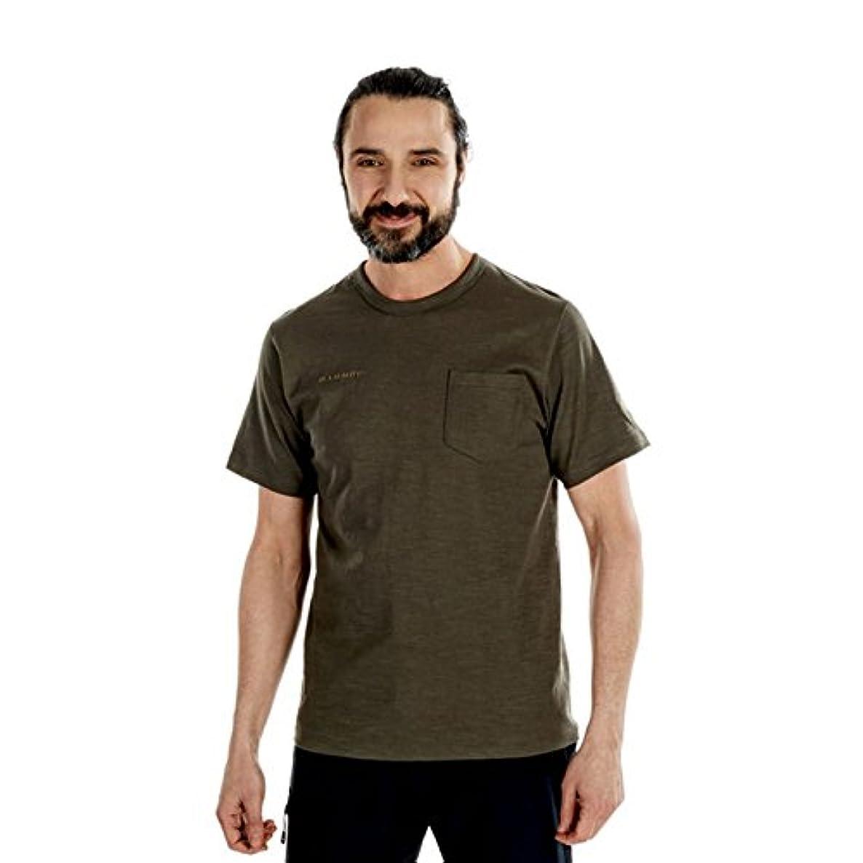 消えるジーンズ影響力のある[マムート] コットン ポケット Tシャツ 1017-10001 メンズ