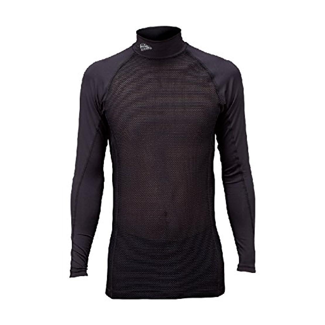 医療過誤割り当てる無しフリーノット(FREE KNOT) SUNSHADE レイヤードアンダーシャツ 90.ブラック L Y1635