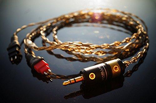 Whiplash Audio TWAU v3 Sennheiser 交換用アップグレード ケーブル HD650, HD600, HD25-1 2対応 国内