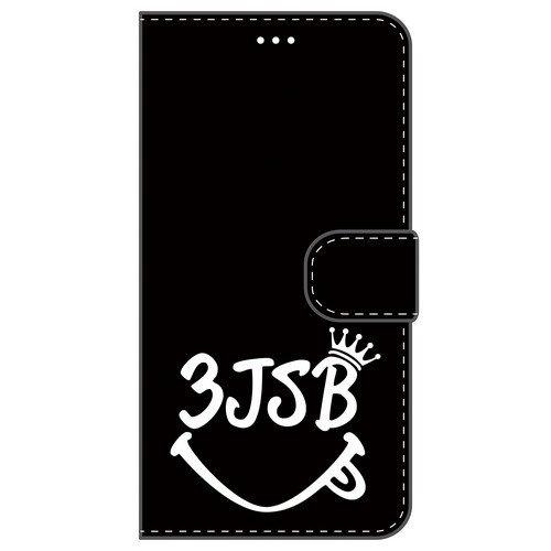 iPhone6/6s 手帳型ケース 【3JSB】 黒/白 0...