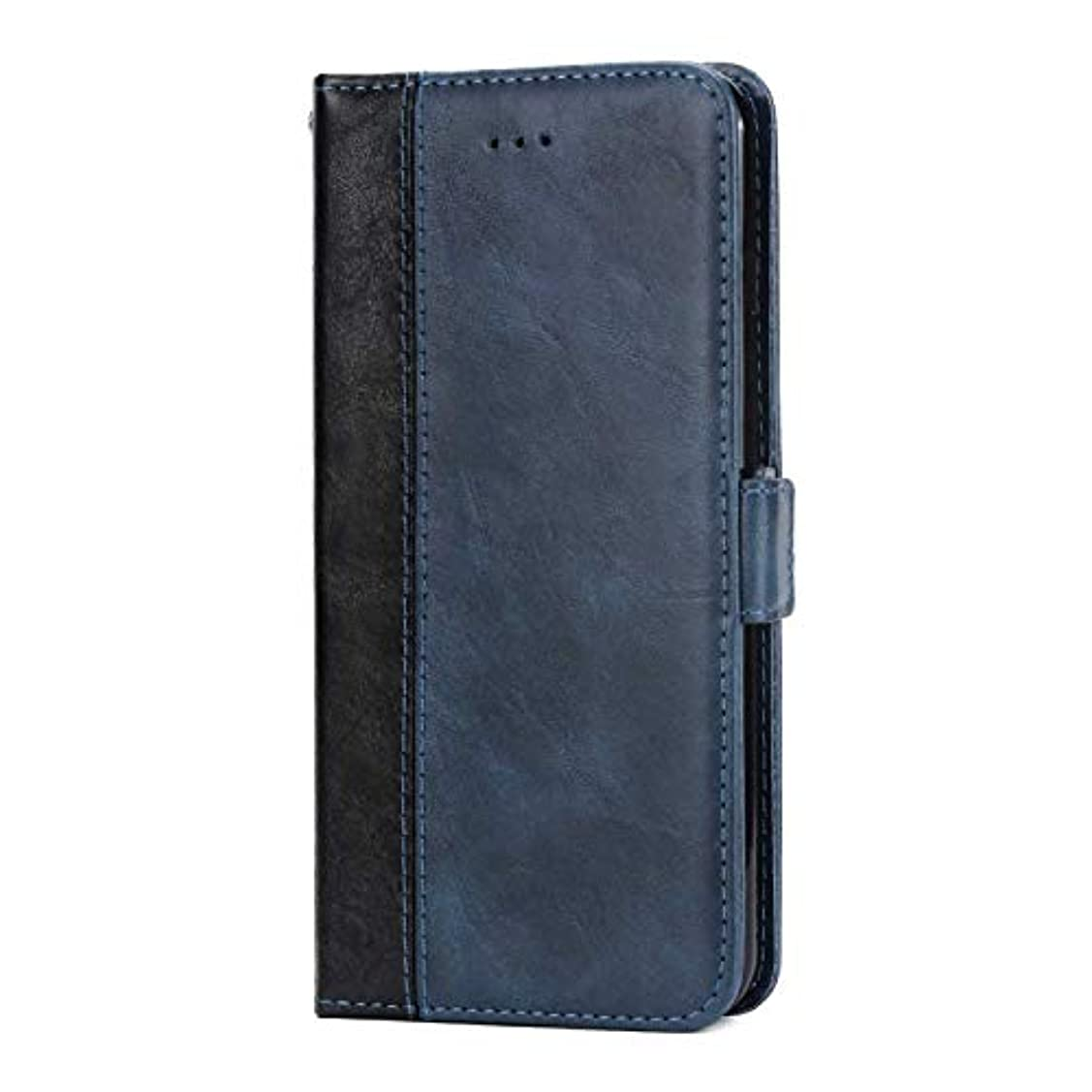 区画検索エンジンマーケティングマイクロプロセッサOMATENTI Huawei P20 Pro 手帳ケース マグネット式 カバー Huawei P20 Pro 高級PUレザー カードポケット スタンド機能 薄型 スマホケース(3-ブルー)