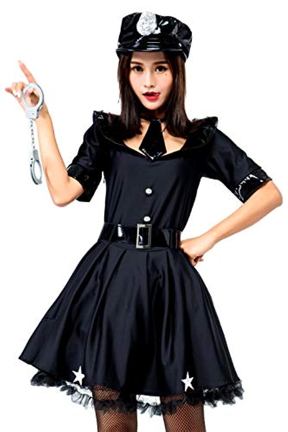 不規則な使い込む優れました[eones]ハロウィン コスプレ 婦警 ミニスカ ポリス セクシー 婦人警官 警察 魔女 衣装 仮装 制服