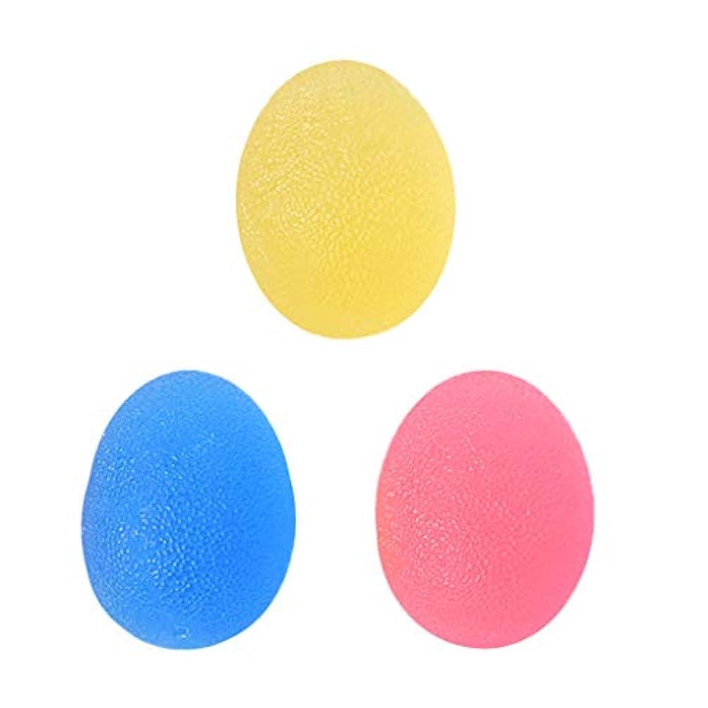 簡単な感度制約D DOLITY 3個 手のひら 運動 スクイズボール ハンドエクササイザ ツボ押し