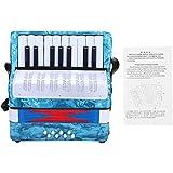 コンサーティーナ アコーディオン アコーディオン 子供 子供おもちゃ 音楽玩具 ABS製 軽量 丈夫 長持ち 耐久性 使い簡単 持ち運び便利 初心者適用 高品質 全4色(#4)