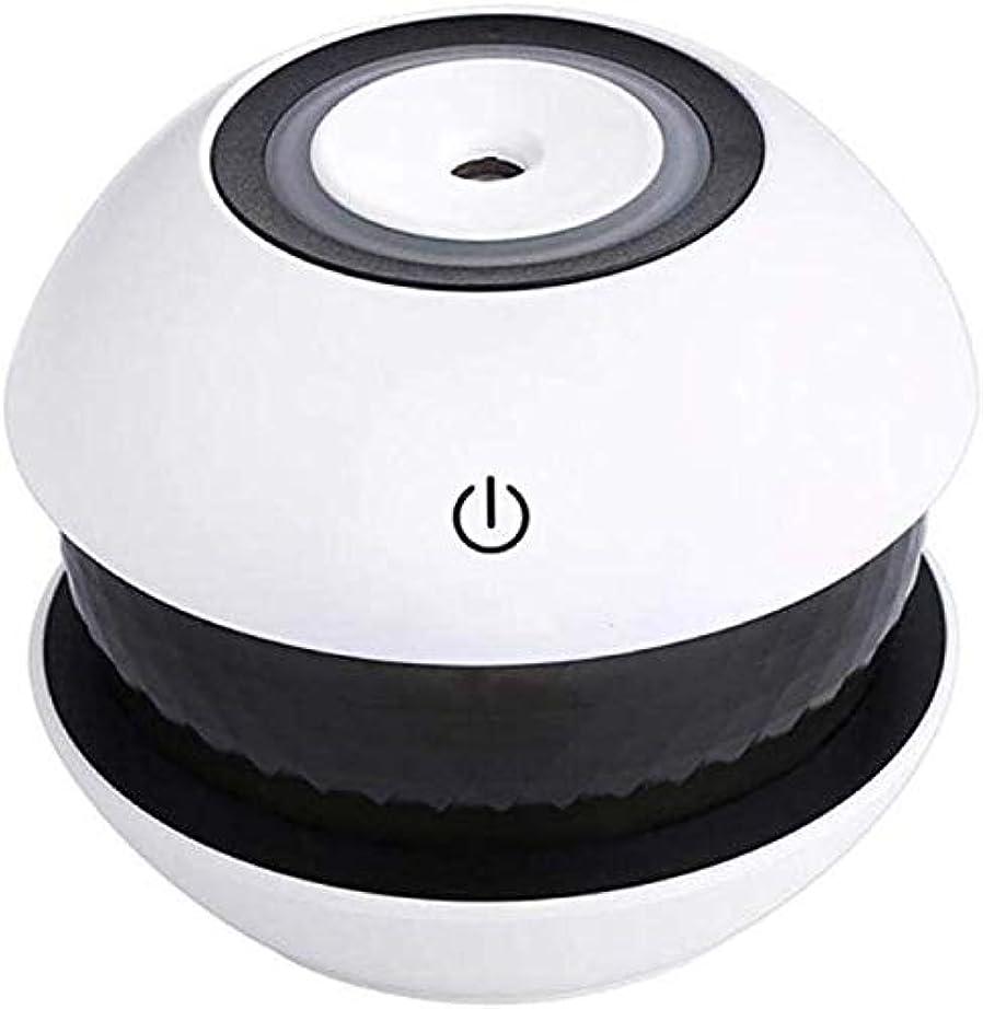 素子立ち寄る賛辞SOTCE アロマディフューザー加湿器超音波霧化技術が内蔵水位センサーエッセンシャルオイル満足のいく解決策 (Color : Black)