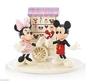 """ディズニーフィギュア レノックス ミッキー ミニー """"Sweet Treats with Mickey and Minnie"""" #831696"""