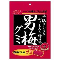 ノーベル製菓 男梅グミ 38g×6個入×(2ケース)