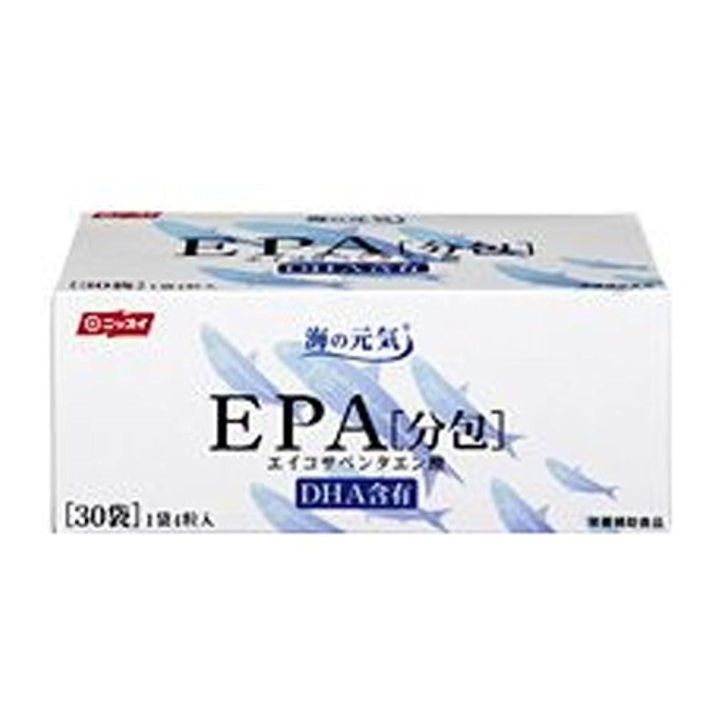 絡み合いパートナー軍隊ニッスイ 海の元気 EPA 分包30包 EPA サプリメント(DHA含有)