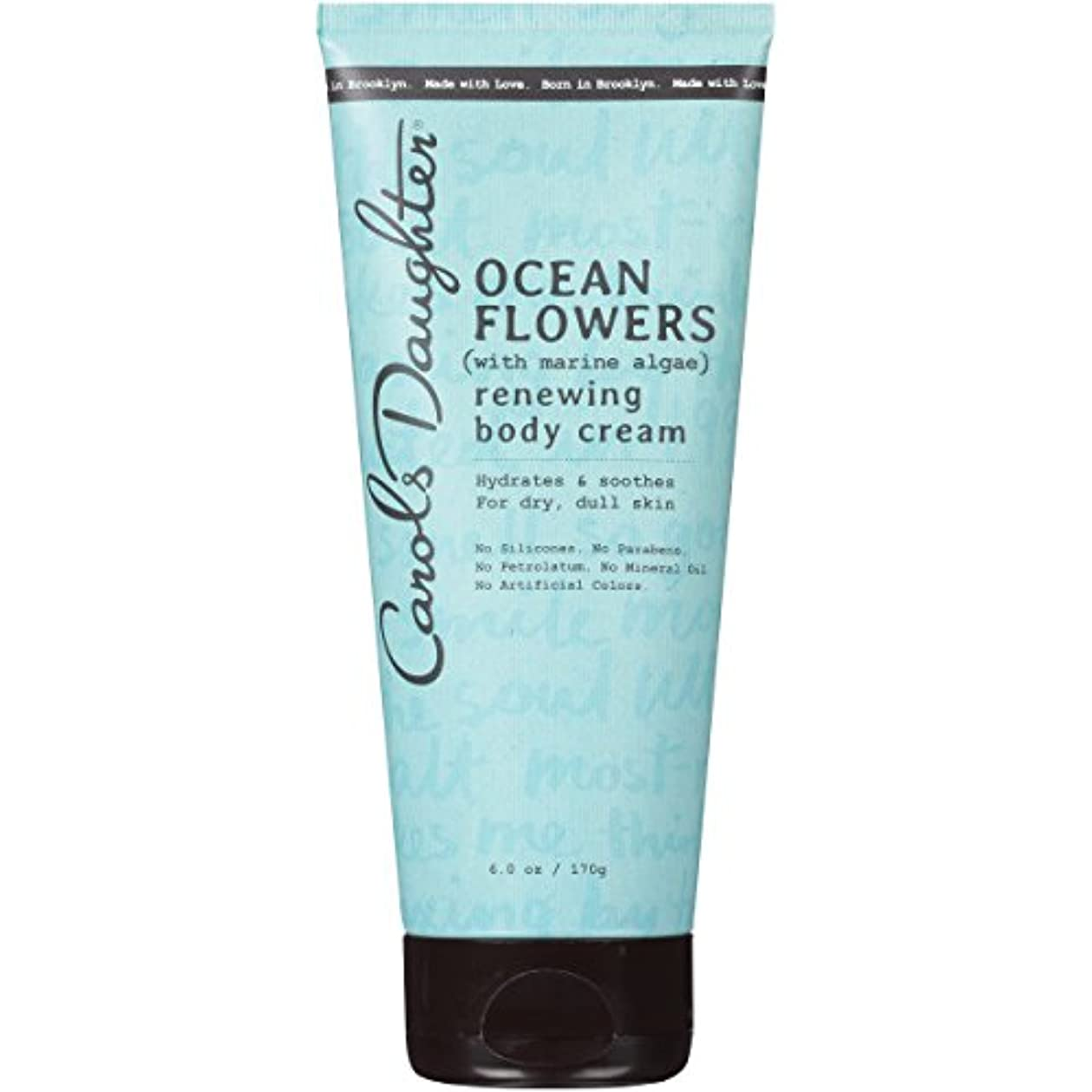火星全能最初にキャロルズドーター Ocean Flowers Renewing Body Cream 170g/6oz並行輸入品