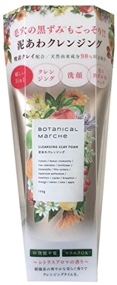 起こりやすいフルーツ野菜後者ボタニカルマルシェ 泥泡クレンジング