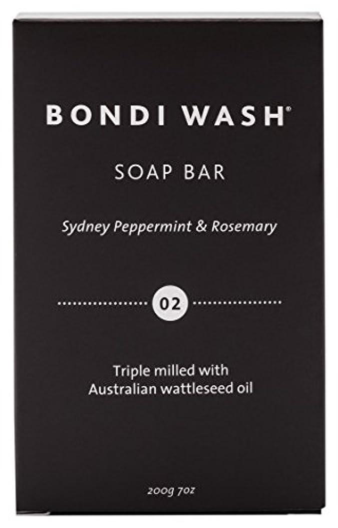 レポートを書く自己尊重むしろBONDI WASH ソープバー(固形石鹸) シドニーペパーミント&ローズマリー 200g