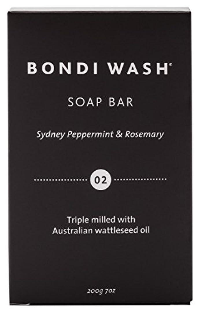 緊張するの前で虎BONDI WASH ソープバー(固形石鹸) シドニーペパーミント&ローズマリー 200g