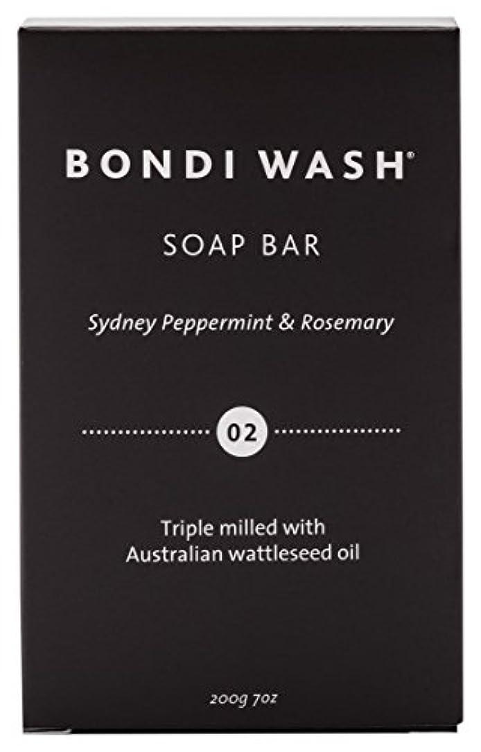 達成する不器用メディアBONDI WASH ソープバー(固形石鹸) シドニーペパーミント&ローズマリー 200g