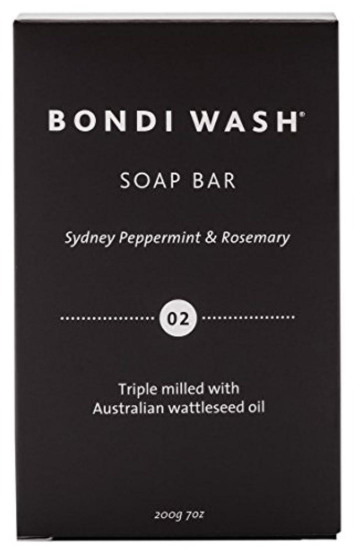 バウンス直面するリップBONDI WASH ソープバー(固形石鹸) シドニーペパーミント&ローズマリー 200g