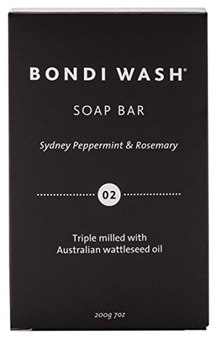 ポインタストレス生きているBONDI WASH ソープバー(固形石鹸) シドニーペパーミント&ローズマリー 200g
