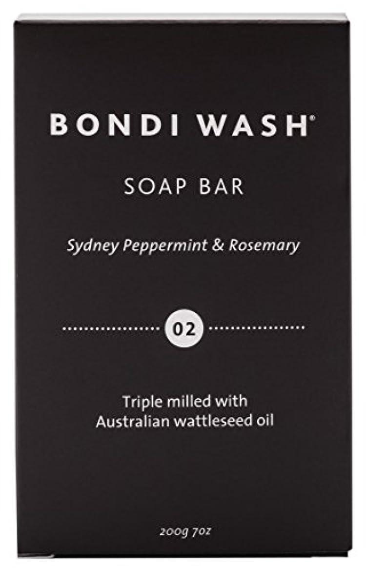 サイト宿題辛いBONDI WASH ソープバー(固形石鹸) シドニーペパーミント&ローズマリー 200g