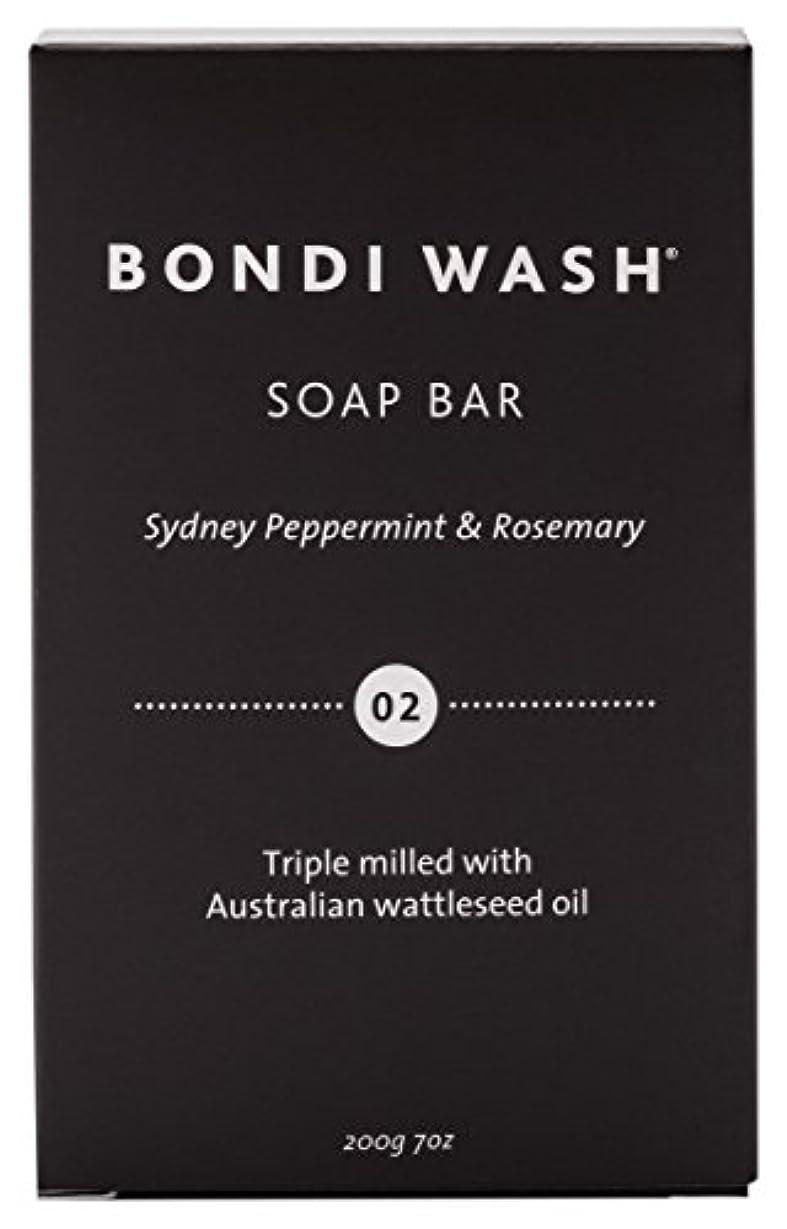 おびえた優雅な時々時々BONDI WASH ソープバー(固形石鹸) シドニーペパーミント&ローズマリー 200g