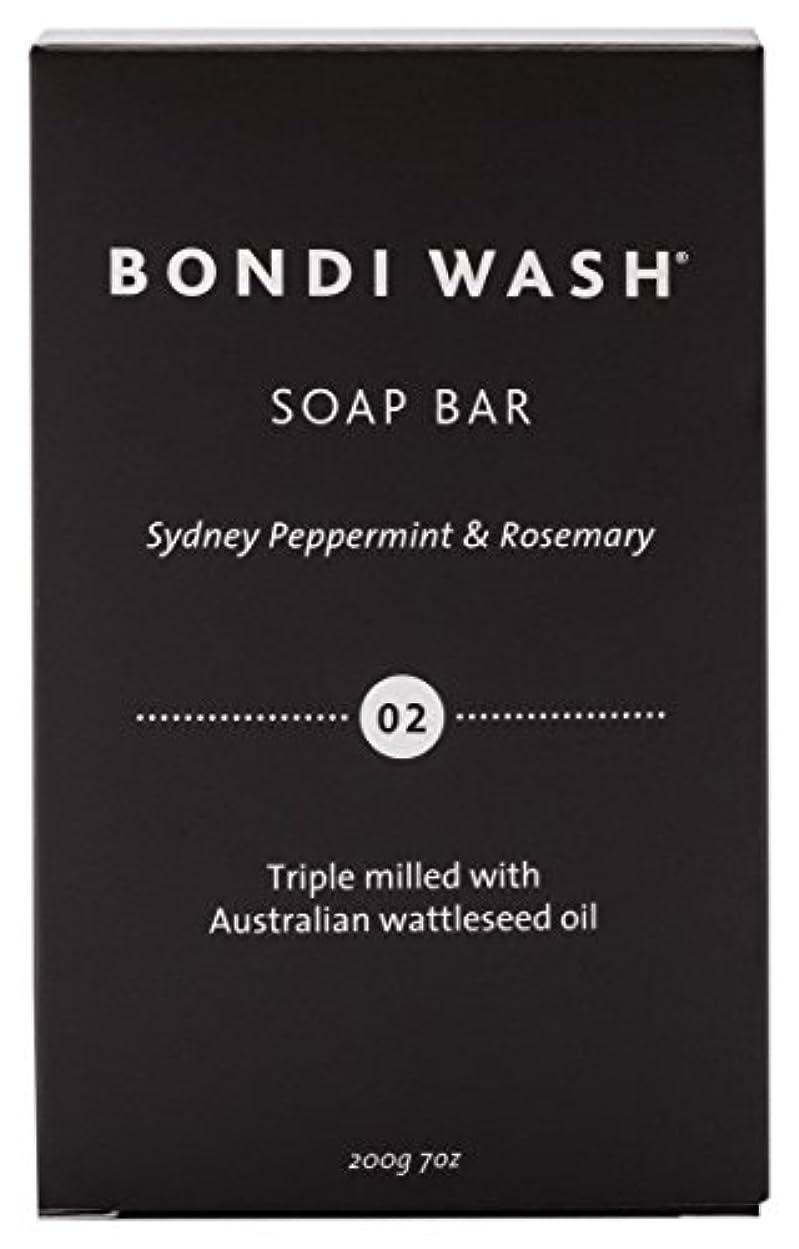 非公式ソート代数的BONDI WASH ソープバー(固形石鹸) シドニーペパーミント&ローズマリー 200g