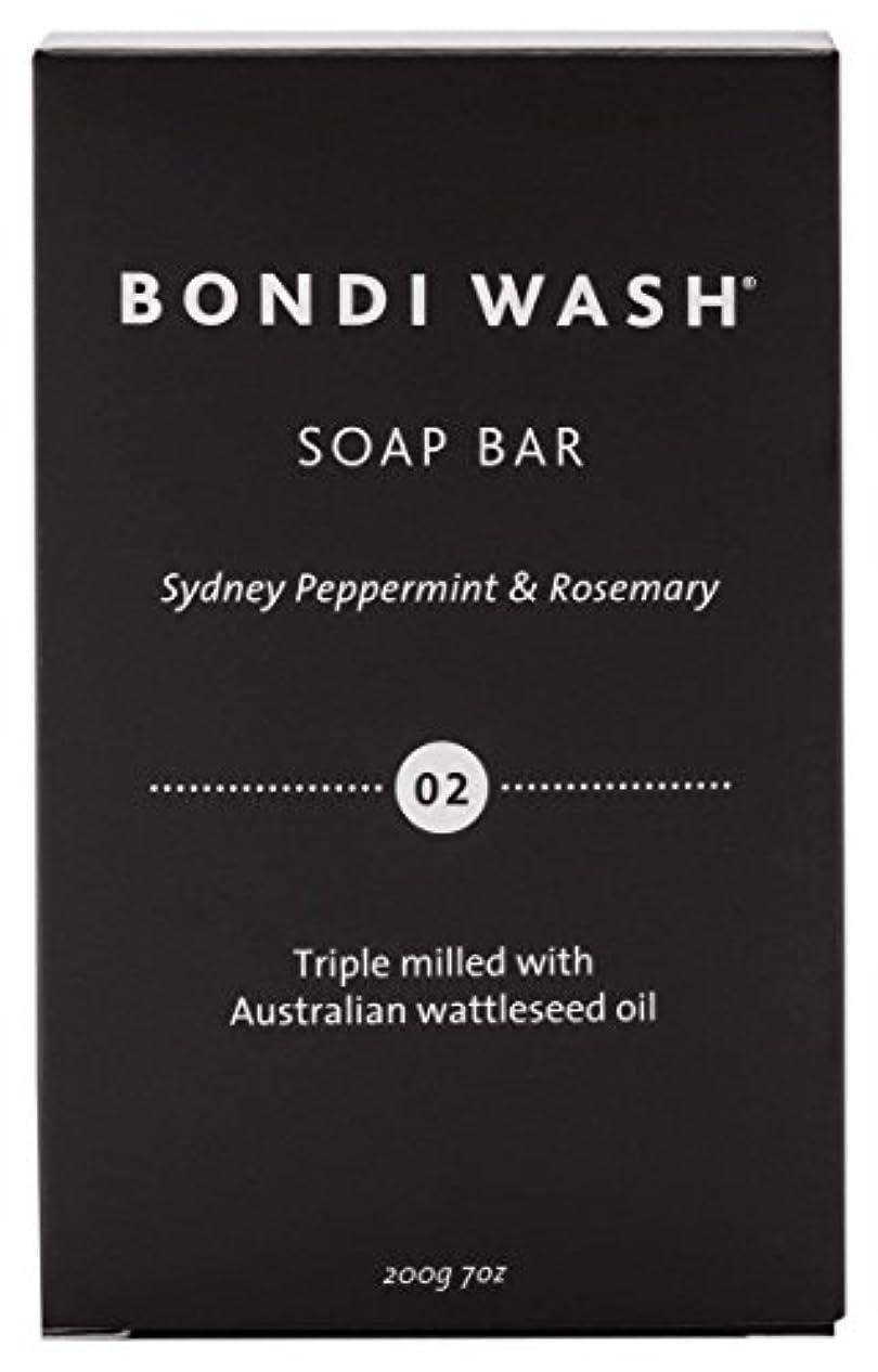 気取らない思春期候補者BONDI WASH ソープバー(固形石鹸) シドニーペパーミント&ローズマリー 200g