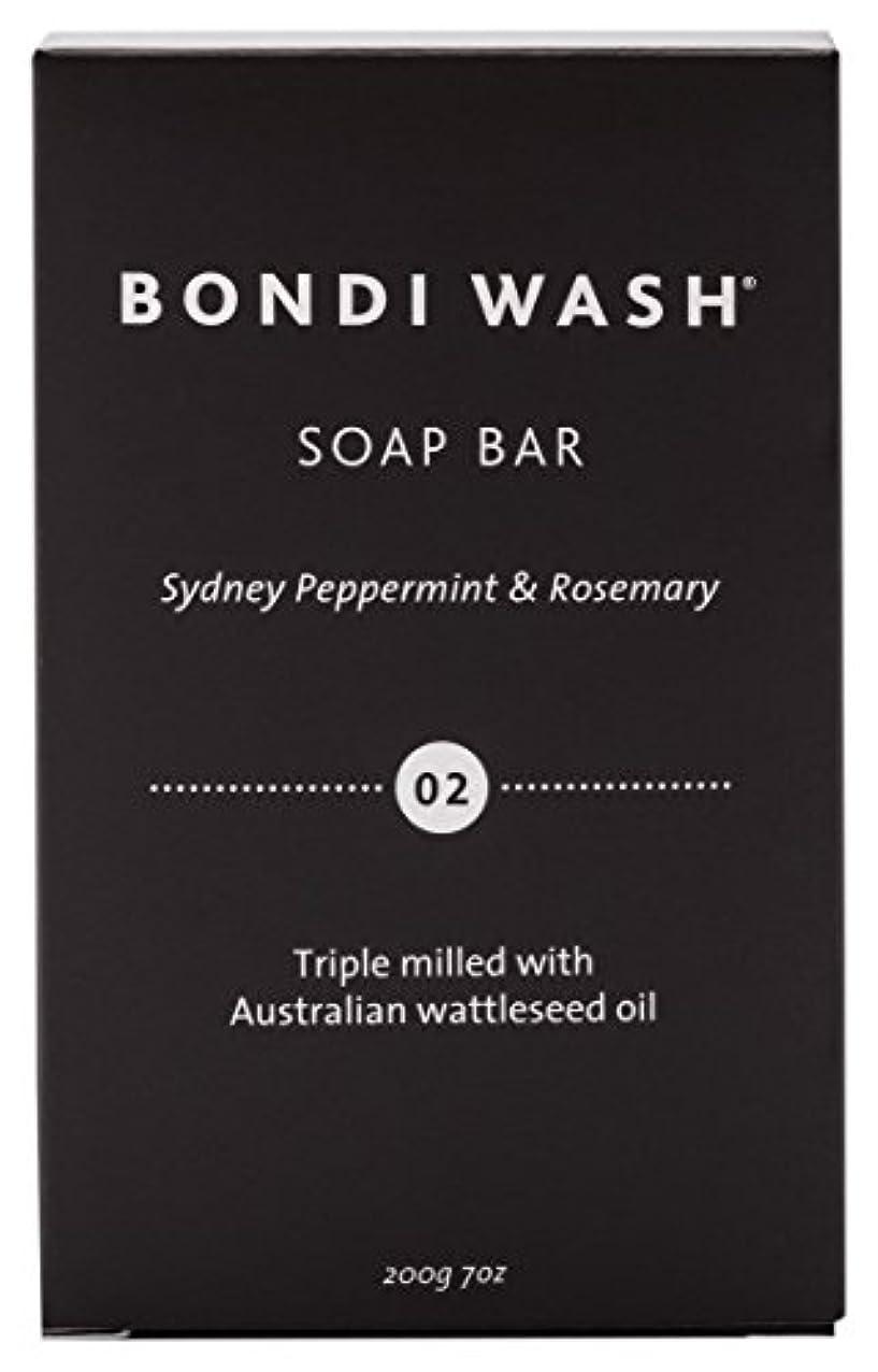 大きさ遠い環境に優しいBONDI WASH ソープバー(固形石鹸) シドニーペパーミント&ローズマリー 200g